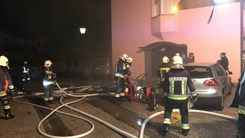 Feuer in der Alten Landstraße