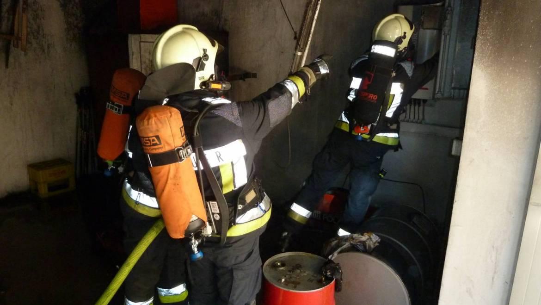 Brandeinsatz in Auer Bahnhofsstrasse