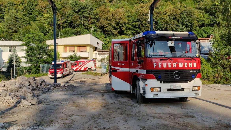 Brandeinsatz Ex Mobilrot