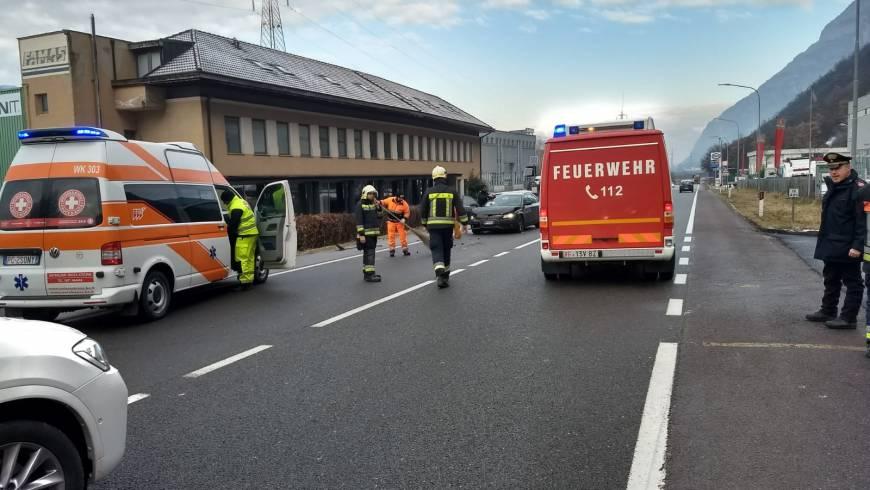 Verkehrsunfall mit 3 PKWs