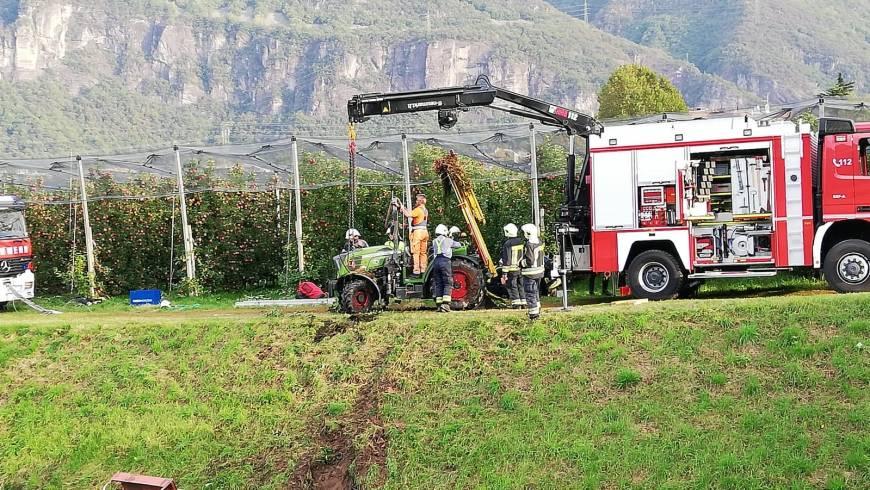 Einsatz Traktorunfall